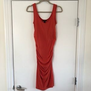 Coral Isabella Oliver Dress, Size 1 (Small)